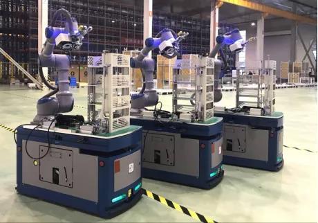 【专题】国产复合移动机器人影响力品牌